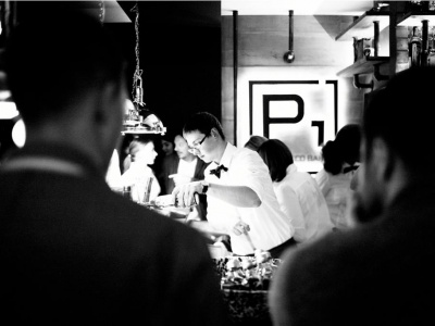 Open P1 prosecco bar  and  M1 Hotel Odessa